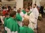 Msza święta dziękczynna w intencji księży - Pożegnanie ks. Konrada Hołysia i przywitanie ks. Jakuba Dudka - 04.09.2021 r.